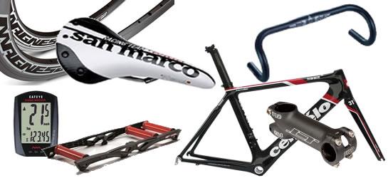 自転車パーツの買取